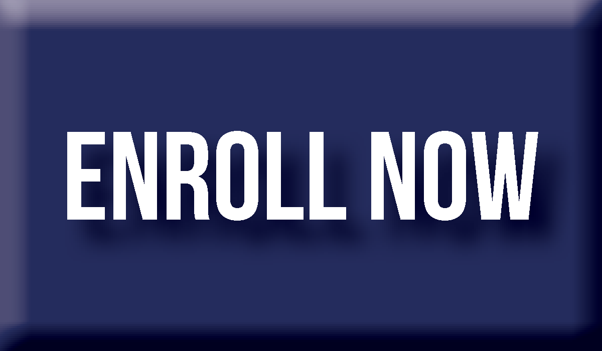 """Blue button that reads """"Enroll Now"""""""