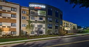 Courtyard Marriott Hotel in Oxford, Mississippi