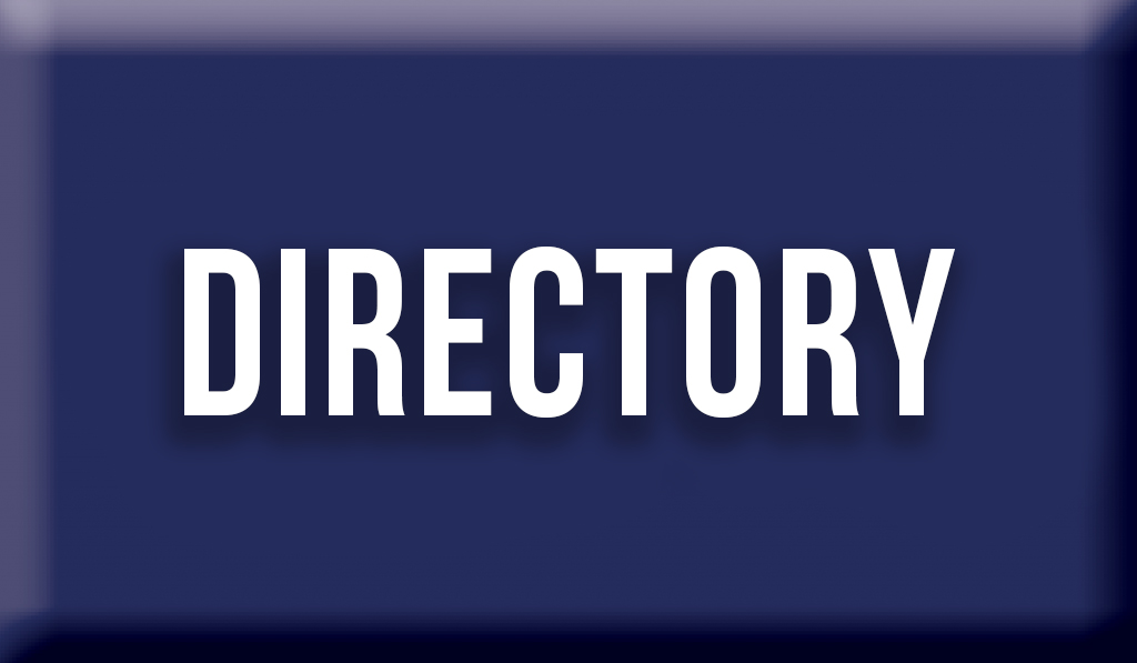 """Blue Button with text """"Directory"""""""